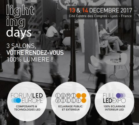 Lighting Days 2017 Lyon